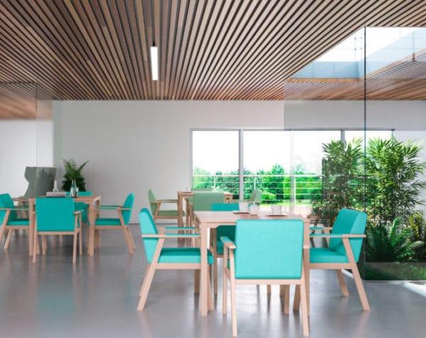 Serie UNNA sillas sillones butacas sillón Mobiliario Geriátrico vista 1