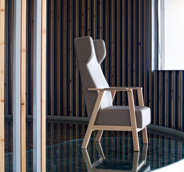 Serie UNNA sillas sillones butacas sillón Mobiliario Geriátrico vista 2