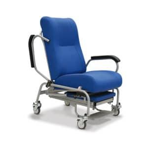 Sillón geriátrico para desplazamientos respaldo abatible mobiliario geriátrico residencias mayores