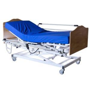 Somier articulado colchón funda cabecero barandilla mobiliario geriátrico pack apolo