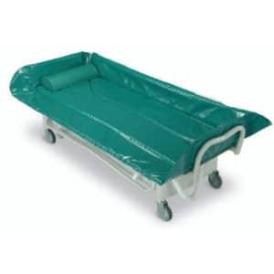 Carro de lavado para aseo personal de personas dependientes