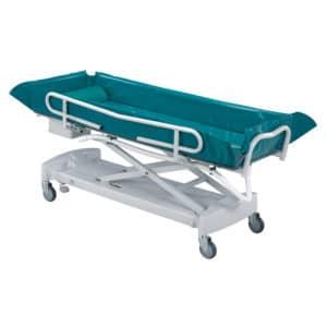 Carro de Lavado para higiene personal para personas dependientes en residencias de mayores