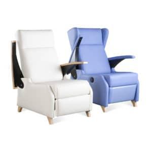 Sillón geriátrico descanso relax modelo Dublín mobiliario geriátrico