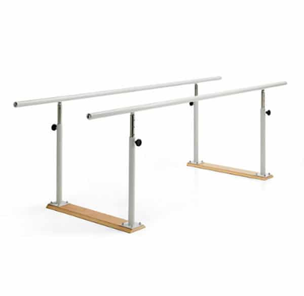 Paralelas metálicas 2,5 metros regulables en altura para rehabilitación y fisioterapia