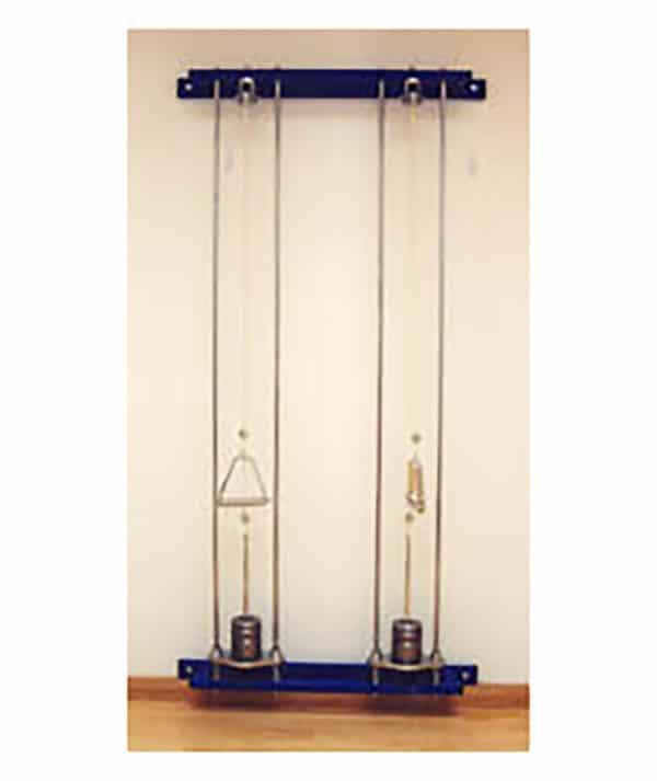 Poleas dobles pared para rehabilitación y fisioterapia