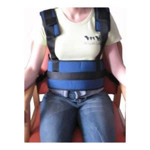 Cinturones abdominales de sujeción con tirantes