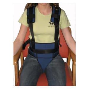 Cinturones pélvicos de sujeción con tirantes