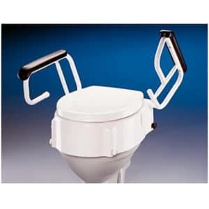 elevador baño WC con reposabrazos abatibles