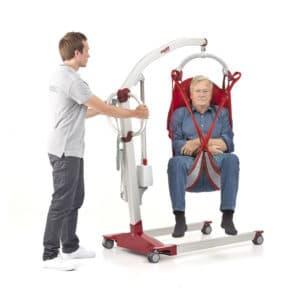 Grúa ortopédica eléctrica de movilización y traslado 180 Kg.