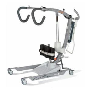 Grúas ortopédica bipedestación para transferencias cambio pañales