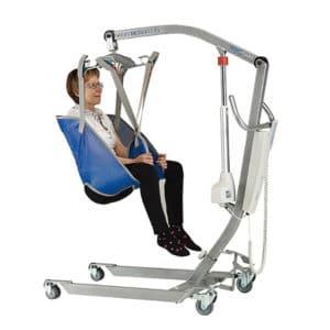 Grúa ortopédica de movilización y traslado de hasta 175 Kg.