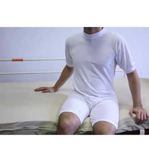 Pijamas geriátricos con cremallera, lavables y reutilizables