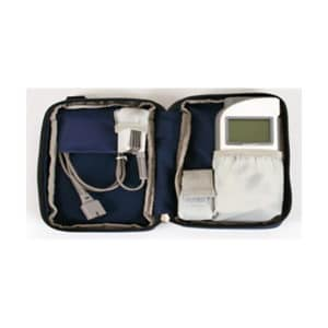 Pulsioxímetro portátil con alarmas y monitor gráfico de control