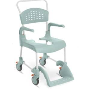 Silla de ducha con ruedas para WC Movilidad reducida para residencias de mayores