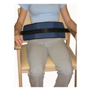 Cinturón de sujeción abdominal para sillas y sillones