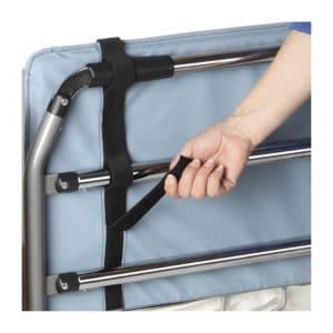 Protector acolchado para barandillas de cama