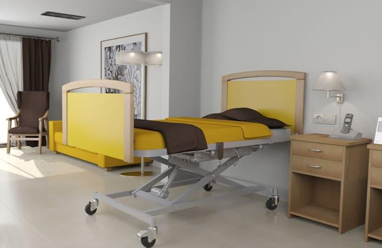 Habitación residencia mobiliario geriátrico