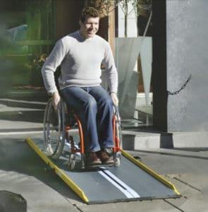 rampas ultraligeras para sillas de ruedas y scooters personas dependientes