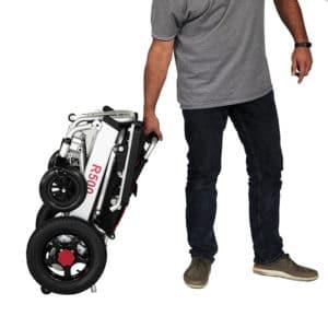 silla de ruedas eléctrica plegable R500