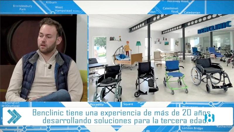 Benclinic invitado al programa de Quique Peña