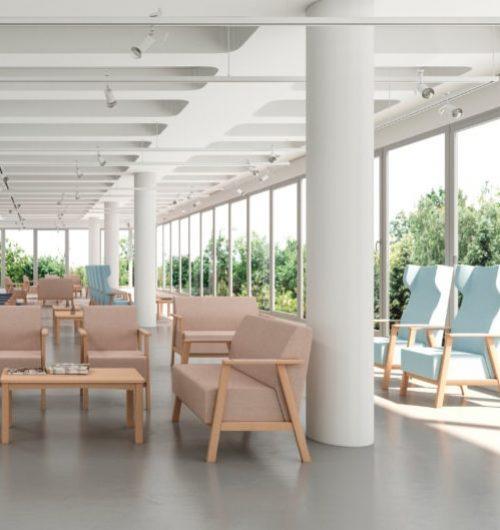 Serie UNNA sillas sillones butacas sillón Mobiliario Geriátrico vista 5