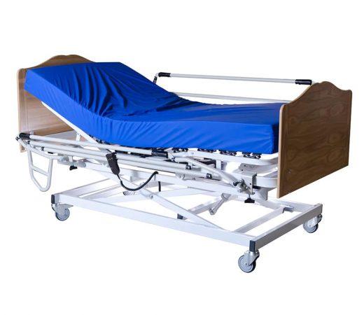 Cama articulada colchón funda cabecero barandilla mobiliario geriátrico pack apolo