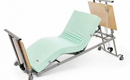Cama alzheimer cota cero mobiliario geriátrico residencias mayores