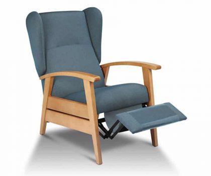 Sillón con orejeros relax Denver mobiliario geriátrico para residencias